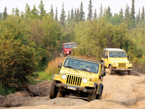 Antalya Jeep Safari Tour